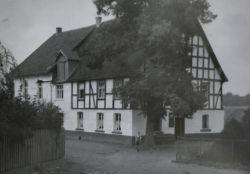 Historisches Foto Hotel Willecke